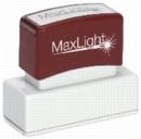"XL2-145 MaxLight Custom Pre-Inked Stamp  5/8"" x 2 7/16"""